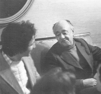 Billy Aronson and Eugene Ionesco